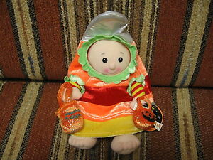 """9"""" plush lil Trick or Treater, made by First & Main"""