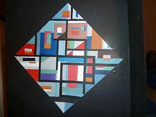 Original Painting in the style of Piet Mondrian - Artist is Pietro Ceccarelli