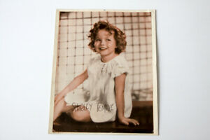Vintage Shirley Temple Color Print Promo for The Baby Doll