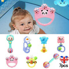 7x Baby Rattle Toys Set Kids Music Sensory Toys Shaker Musical Educational Gifts