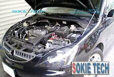 Mitsubishi Evolution EVO 4 5 6 CN9A CP9A Black Strut Bonnet Shock Hood Damper