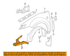 Saturn GM OEM 03-07 Ion-Fender Reinforcement Left 22715240