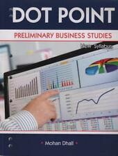 PRELIMINARY BUSINESS STUDIES - DOT POINT - DHALL ALMOST NEW - FAST FREE POST