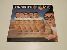 DEVO - OH NO IT'S DEVO - LP 1982 VIRGIN RECORDS MADE IN ITALY - OIS - VG++/VG++