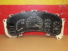 CHEVY GMC TRUCK SUV 00 01 02 SPEEDOMETER INSTRUMENT CLUSTER GAUGES OEM 15055362