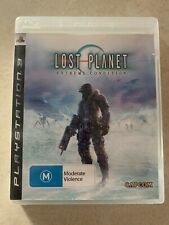 New listing PS3 Lost Planet: Extreme Condition Sony PlayStation 3 Complete With Manual