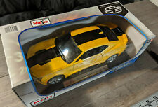 1:18 Maisto, Special Edition, Yellow/Black Chevrolet Camaro SS Hardtop Car