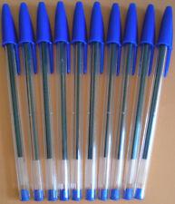 10 Stk. BIC Cristal Kugelschreiber blau #8373601 NEU