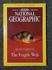 National Geographic Magazine February 1999 No Supplement, The Fragile Web