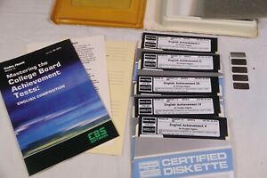 """Tandy Model III - Master College Achievement Tests - 5.25"""" Floppy Disks Complete"""