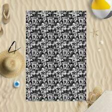 "58""x39"" Elvis Presley Black & White Montage Microfibre Beach Towel pool"