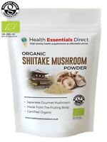 Organic Shiitake Mushroom Powder (Immune System, High in Vitamin D) Choose Size: