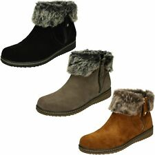 Ladies Hush Puppies Ankle Boots Penny