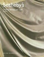 Sotheby's ///  Contemporary Art Part I Post Auction Catalog 2007