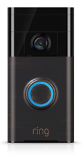 The Ring Smart Camera Live Video Way Doorbell Alexa iPhone Compatible For Home