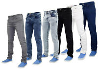 True Face Mens Slim Fit Stretch Denim Jeans Western Stretchable Trouser Pant Lot