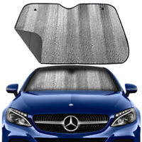 Front Car Sunshade Windshield-Jumbo Sun Shade Keep Vehicle Cool-UV Ray Protector