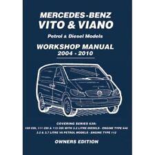 Manual de taller de motor Mercedes-Benz