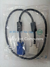 Heavy Duty video cable DVI-A male to VGA male with ferrite filter