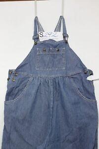 Salopette DON HOWARD (Cod. S292)Tg.M Premaman Jeans usato vintage Original Zampa