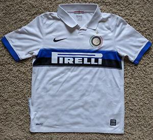 Inter Milan 09/10 Away kit/jersey youth Large - boys 2009/10