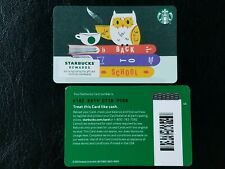 100's of GIFT CARDS: 2020 Starbucks BACK TO SCHOOL Card #6182 - USA