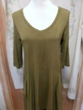 JOIN CLOTHING GOLD ONBA (GREEN TONE) V-NECK TOP ONESIZE