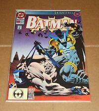 Batman #500 1st Print vs Bane Knightfall