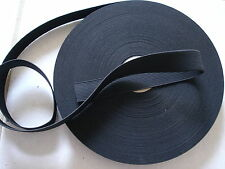 2*yards**BLACK**1**inch heavy duty  ELASTIC BAND