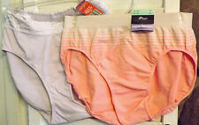 SET OF 2 PANTIES WARNER'S LACE HIPSTER 9.2XL BALI HI CUT 8/9 BRAND NEW WITH TAGS
