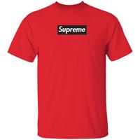 Supreme Black Box logo T-Shirt SS17 Medium Red