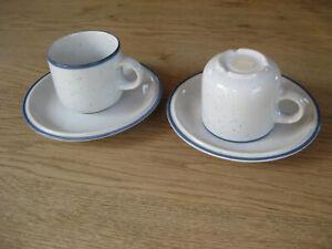 THOMAS Family Blue - 2 Kaffeetassen mit Untertassen