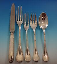 Bougainville by Puiforcat Cartier Sterling Silver Flatware Set Service 20 pieces