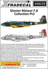 Xtradecal 1/48 Gloster Meteor F.Mk.8 Collection Part 2 # 48159
