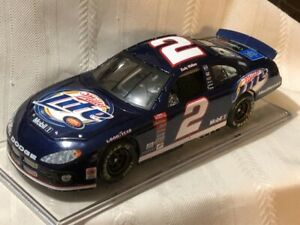 NASCAR diecast 1/24 scale #2 RUSTY WALLACE Miller Lite 2003 Dodge Intrepid