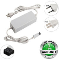 AC Adapter Power Supply Cable For Nintendo Wii Console Wall Charger EU US Plug