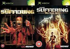 El sufrimiento y el sufrimiento de los vínculos que unen Xbox Formato PAL