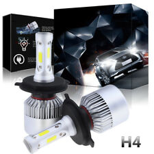1PC Motorcycle Bike LED Headlight High Low Beam H4 9003 6K 700W 105000LM Bulb