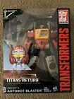 Transformers Titans Return Blaster & Twincast & Rewind & Stripes - 100% COMPLETE