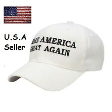 President Donald Trump Make America Great Again Hat US Republican Cap White