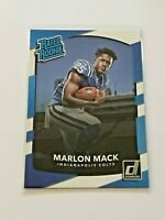 2017 Donruss Football Rated Rookie - Marlon Mack RC - Indianapolis Colts
