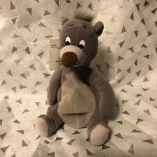 The Disney Store Jungle Book BALOO Bear Bean Bag Plush