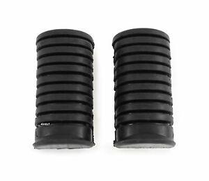 Set of 2 Foot Peg Rubbers - Rider - SL100/125/350 CB/CL175/350/450 CB500/550/750