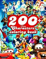 Disney 200+ Characters Coloring Book by Jimmy Greaves