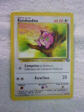 Carte pokémon rondoudou 54/64 commune jungle
