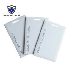 EM Thick card 125khz clamshell contactless rfid Proximity ID Cards-100pcs