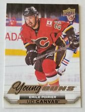 15-16 UD YOUNG GUNS CANVAS C92 EMILE POIRIER ROOKIE RC