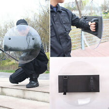 Tactical Training Swat Police Squad Transparent Arm Round Riot Shield