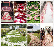 200-2000Pcs Various Colors Silk Flower Rose Petals Wedding Party Decorations