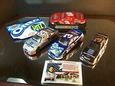4 Car Lot 1:43 Dale Earnhardt Sr & Jr Kevin Harvick Oreo Coca-Cola GM Goodwrench